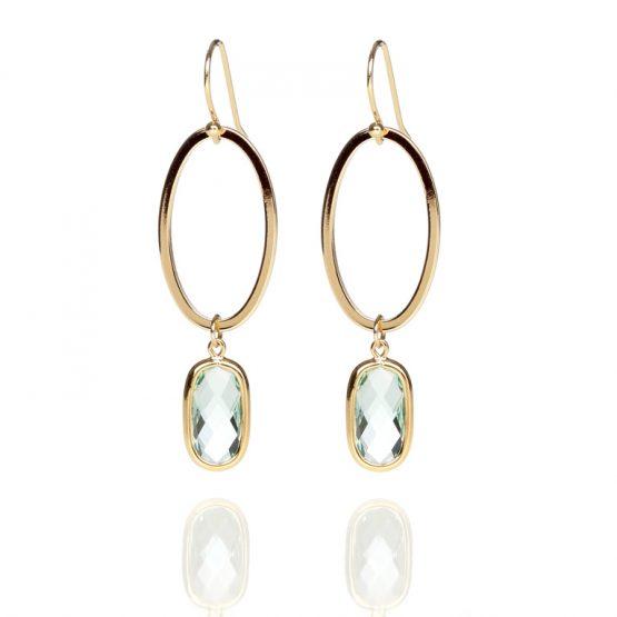 Carryyourself-green-earrings