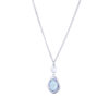 blue-snowdrop-necklace-silver