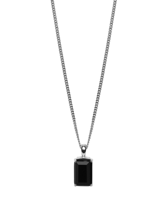 Be Dazzled! |Necklace |Dark mystery silver