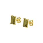 My-kind-of-stud-orhangen-chocolate-brun guld