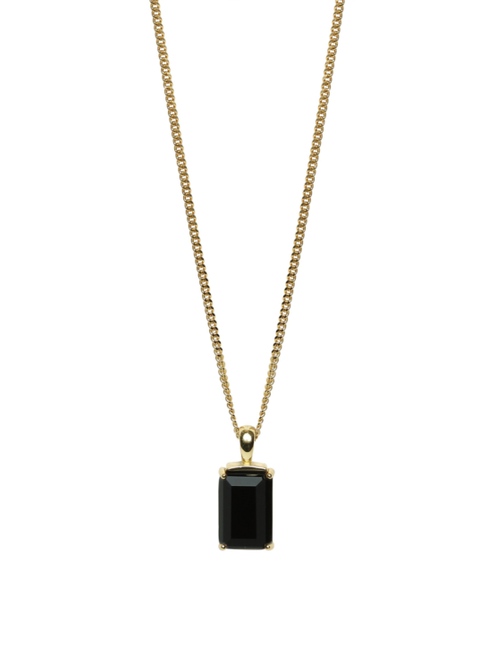 Be Dazzled! |Necklace |Dark mystery gold