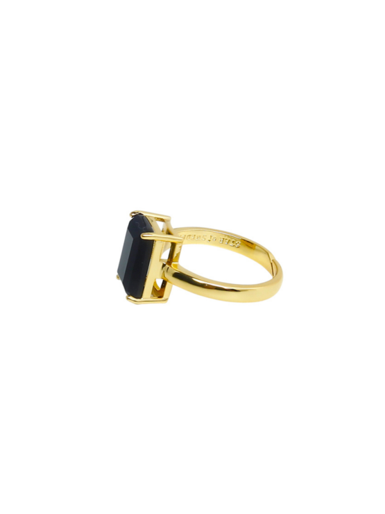 Say Yes! | Dark mystery gold | ring